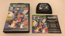 Micro Machines Sega Mega Drive Megadrive UK PAL Complete Codemasters