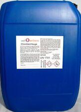 Chlorbleichlauge / Natriumhypochlorit - Lösung mit 13% Aktivchlor - 25 kg