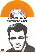 "JOHNNIE ALLAN / PETE FOWLER ""Promised Land / One Heart.."" yellow 7"" Vinyl Single"