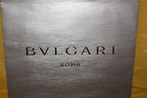Bvlgari Roma Empty Designer Shopping Bag 17 x 14