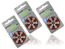 30 x PowerOne 312 Hörgerätebatterien Hörgeräte-Batterien  P312   PR41
