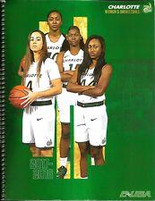 2017-18 Charlotte 49'ers Women's Basketball Media Guide