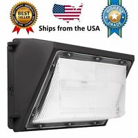 LED Wall Pack - 80W 5000K Commercial / Industrial Light Fixture 9600LM 120-277V