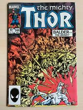 THOR #344 1ST APP OF MALEKITH THE ACCURSED HIGH GRADE COPPER AGE MARVEL COMIC