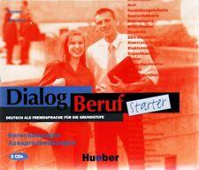 Hueber DIALOG BERUF Starter Audio CD Deutsch als Fremdsprache fur Grundstufe NEW