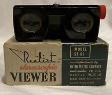 FANTASTIC CONDITION VINTAGE REALIST STEREOSCOPIC VIEWER MODEL ST-61 W/ BOX+