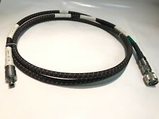 Times Microwave miltech SMA à N 210 cm 18GHz Rugged RF TEST CABLE ad1Y10