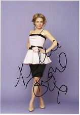 KELLIE BRIGHT - Signed 12x8 Photograph - TV - ROCK AND CHIPS