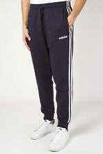 Adidas Pantalone da Uomo Essentials 3-stripes Tapered Cuffed Blu Taglia M codice