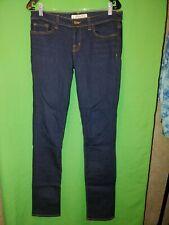 """0550) NWOT J BRAND 28 or 6 skinny low rise dark denim strech jeans 34"""" in new 28"""