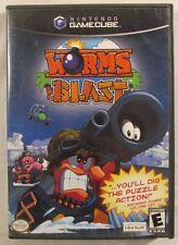 Worms Blast - Gamecube Complete Cib w/ Box, Manual