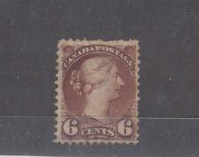 Canada QV 1889 6c Brown SG108 MH J9988