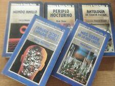 LOTE 5 NOVELAS BIBLIOTECA ORBIS LA CIENCIA FICCION LIBROS 5 25 27 43 45 RUSTICA