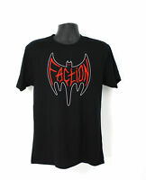 The Faction Bat Logo Skate Rock Punk Band Shirt Steve Caballero Black S-3XL