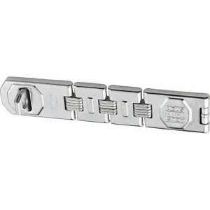 ABUS 110/230 Concealed Hinge Pin Hasp,Fixed,Chrome