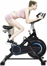 Elecwish Indoor Cycling Bike Exercise Spin Bicycle Stationary Bikes Cardio Home