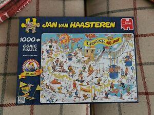 Jumbo Jan Van Haasteren Intertoys 40 Jaar 1000 piece Jigsaw Puzzle Complete Rare