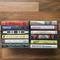 Collection of 12 Vintage Cassettes - Various Artists - Inc The 3 Tenors