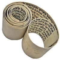 Authentic Antique Hebrew Torah Manuscript Parchment - CA 1600-1800's Tefillin B