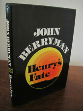 1st Edition HENRY'S FATE & OTHER POEMS John Berryman FIRST PRINTING Poetry RARE