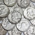 $1 Face Value - 90% Silver U.S. Coins - Franklin Half Dollars