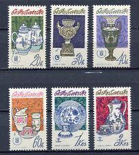33260) CZECHOSLOVAKIA 1977 MNH** Porcelain 6v