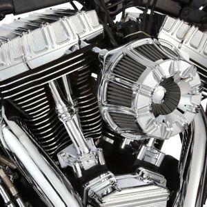 Arlen Ness 10 Gauge Rocker Box Top, Chrome Harley-Davidson Twin Cam 99-17