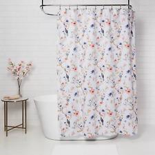 Threshold Floral/Bird Shower Curtain