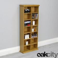 Oak Bookcases Furniture with 7 Shelves