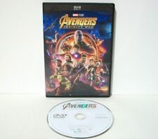 Avengers Infinity War DVD Great Disc Marvel Studios Action Superhero Movie 2018