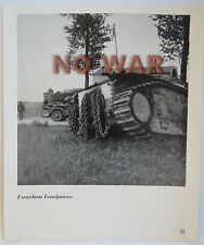 WWII ORIGINAL GERMAN PHOTO PICTURE knocked franch tank battle of France 1940 #23