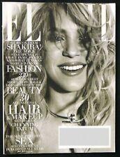 Elle Magazine July 2013 - Team Shakira - Fashion - Beauty - Hair - Makeup