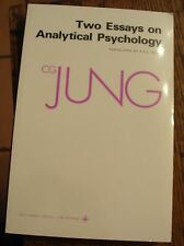 Two Essays on Analytical Psychology CG JUNG Psychology FREE US SHIPPING NICE