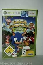 SEGA SUPERSTARS TENNIS GIOCO USATO OTTIMO STATO XBOX 360 ED ITALIANA FR1 37183