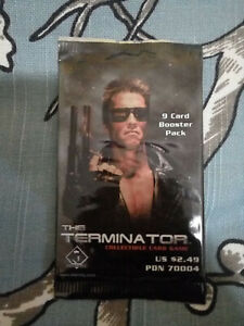 The Terminator Trading Card Pack NEW Sealed WAX