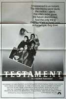 Testament To A Nuclear Holocaust Original Cinema Release 1 Sheet Movie Poster
