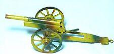 Espléndido Antiguo Hojalata Estaño Juguete Pistola de artillería de campo