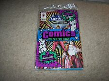 AWESOME SEALED COMBO VALIANT AND DC COMIC NEVER OPENED 3 COMICS !!!!