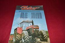 Zetor 16145 12145 12111 10145 10111 8145 8111 Tractor Dealer's Brochure LCOH