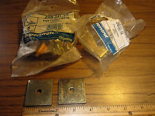 "1/4"" UniStrut Square Washer Flat Plate Fittings for Bolt Rod to Framing Channel"