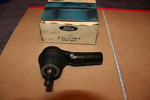 NOS FORD 1984 85 TEMPO MERCURY TOPAZ OUTER TIE ROD END POWER OR MANUAL STEERING
