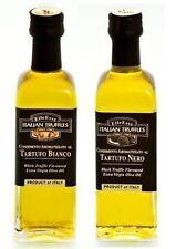 Trüffelöl Trüffel Öl 1 x weiße + 1 x schwarze Trüffel 110ml Italien