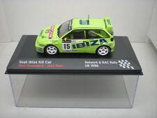 COCHE SEAT IBIZA KIT CAR 1:43 IXO model car rally fiat Rovanpera Repo UK 1996