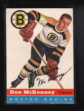 1954-55 TOPPS #35 DON McKENNEY ROOKIE RC EX-MT D5734