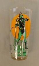 VINTAGE GREEN ARROW PEPSI COLLECTOR GLASS 1976 UNUSED DC COMICS