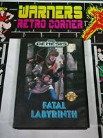 Sega Megadrive Genesis fatal labyrinth no manual Video Game
