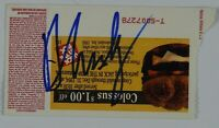 David Crosby Autograph Signed Concert Ticket JSA COA