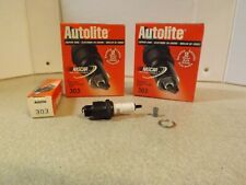 AUTOLITE COPPER CORE Spark Plugs 303 Set of 8