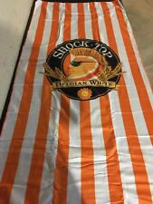 Shock Top Belgian White Beach / Pool Towel Beer Measures 60 X 30