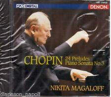 Chopin: 24 Preludes (Preludi), Piano Sonata 3 / Nikita Magaloff - CD Denon Japan